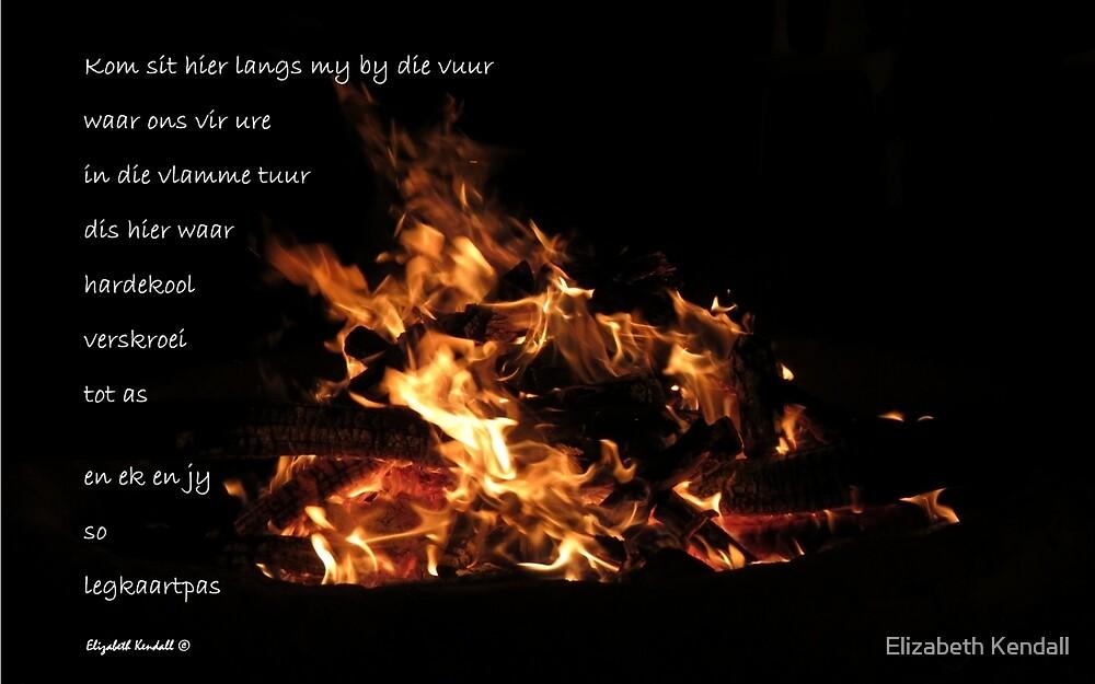 Vuur en vlam by Elizabeth Kendall