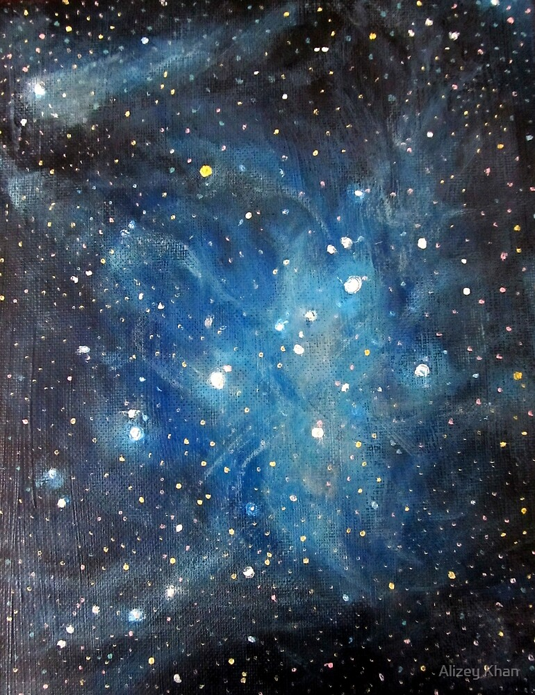 Pleiades by Alizey Khan