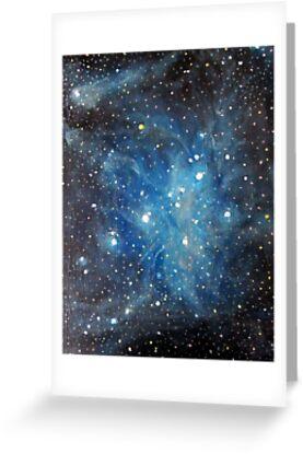 Pleiades by Alizey Khan