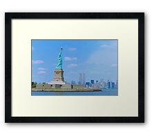 The New York That Was Framed Print