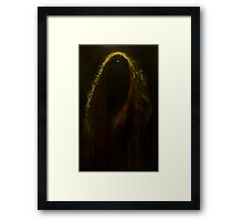 Black Widow Pulsar Framed Print