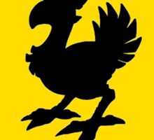 Chocobo Crossing - N. American Signage Sticker