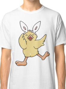 Dancing Easter Bunny Chick  Classic T-Shirt