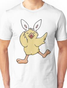 Dancing Easter Bunny Chick  Unisex T-Shirt