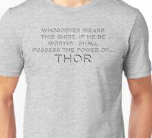 Mjolnir (in shirt form) Unisex T-Shirt