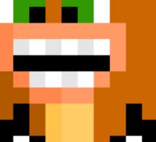 Pixel Crash Bandicoot Sticker Sticker