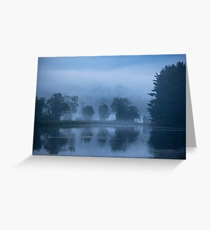Peaceful Blue Greeting Card