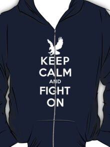 Keep Calm And Fight On 9/11 Tribute Memorial American Patriotic T Shirt T-Shirt