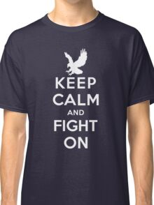 Keep Calm And Fight On 9/11 Tribute Memorial American Patriotic T Shirt Classic T-Shirt