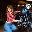 Bike babe by Tazpire