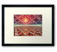 Space Portal To The Stars Framed Print