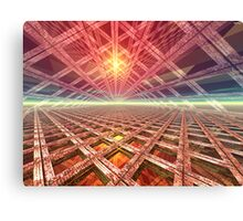 Space Portal To The Stars Canvas Print