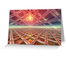 Space Portal To The Stars Greeting Card
