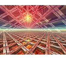 Space Portal To The Stars Photographic Print