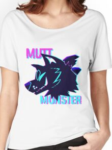 Mutt Monster Glitch Women's Relaxed Fit T-Shirt