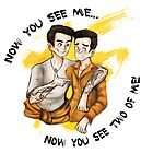 Now you see me, now you see two of me. by wisba