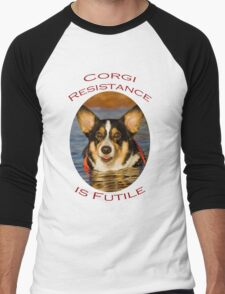 Corgi Resistance Men's Baseball ¾ T-Shirt