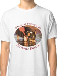 Snack Rescue!...Stand Back Classic T-Shirt