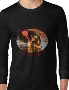 Snack Rescue!...Stand Back Long Sleeve T-Shirt