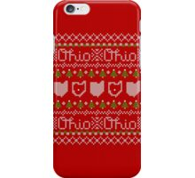 Ugly Sweater, Beautiful Ohio iPhone Case/Skin