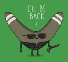 I'll be Back Kids Tee