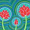 Lotus Family of Three by Elspeth McLean