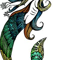 Mermaids and Rainbows by camserese