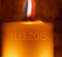 PRAY FOR PARIS Sticker