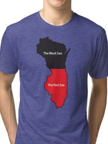 The New Midwest Geography Tri-blend T-Shirt
