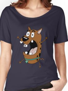 Scooby the Cowardly Dog Women's Relaxed Fit T-Shirt