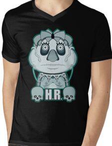 Giger's Pufnstuf Mens V-Neck T-Shirt