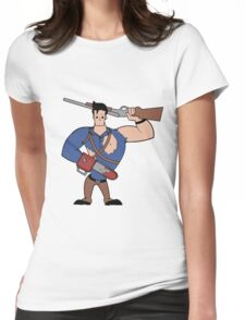 Groovy! Womens Fitted T-Shirt