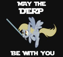 Derpy Hooves Jedi by Andaimaru