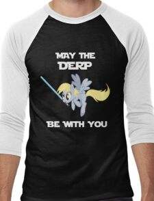 Derpy Hooves Jedi Men's Baseball ¾ T-Shirt