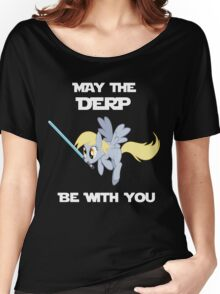 Derpy Hooves Jedi Women's Relaxed Fit T-Shirt