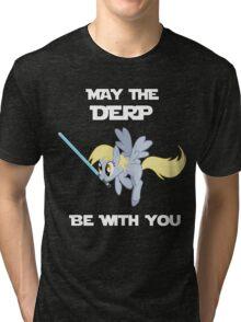 Derpy Hooves Jedi Tri-blend T-Shirt