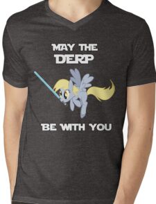 Derpy Hooves Jedi Mens V-Neck T-Shirt