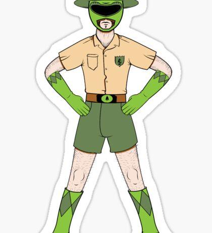Mighty Morphin Forest Ranger Sticker
