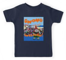 Gnome Invasion!  Kids Tee