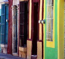 Colourful Campeche Wall by Eva Kato