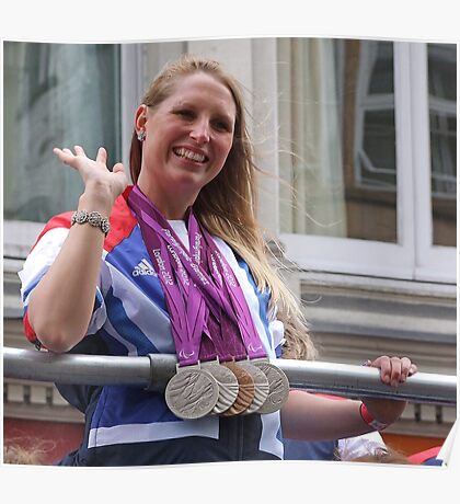 Stephanie Millward - Medals Galore ! Poster