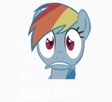 Egghead Rainbow Dash by eeveemastermind