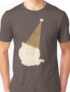 Holiday Ice Cream Cat Unisex T-Shirt