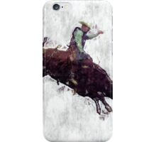 Western-style Bull Rider Rodeo Cowboy iPhone Case/Skin