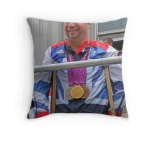Lee Pearson - Multi Medal Winner Throw Pillow