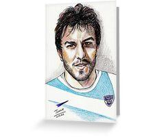 Juan Martin Hernandez, rugbyman Greeting Card