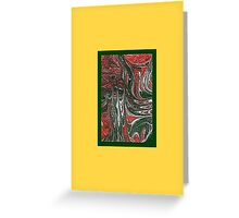 JWFrench Collection Marbled Card 10 Greeting Card