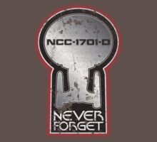 Never Forget: NCC-1701-D by justinglen75