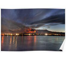 Wenatchee Wildfire Poster