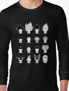 Ka-me-ha-me-Hair Long Sleeve T-Shirt